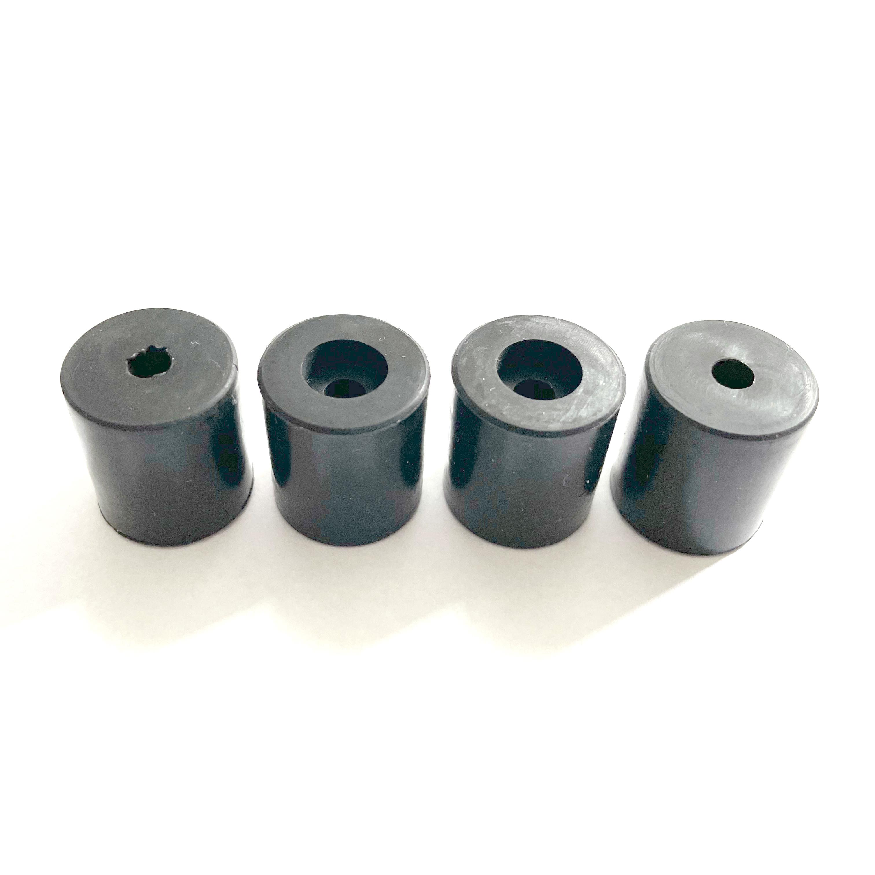 Silikondämpfer für Druckbetten 4x 18mm
