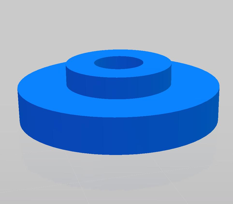 4 Auszugrollen für Tischauszug Rage 5S (3D Druck)