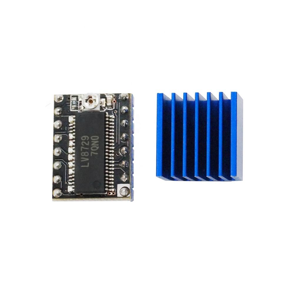 1x LV8729 FYSETC silent Schrittmotortreiber für 3D-Drucker inkl. Kühler