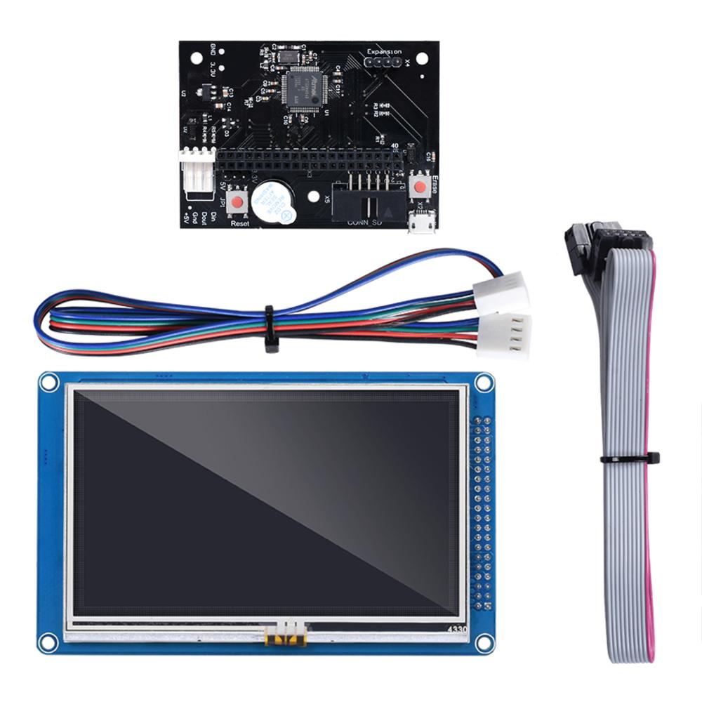 "PanelDue 5"" Touchscreen für z.B. das Duet 2 oder Duet 3 Mainboard inkl. Kabel"