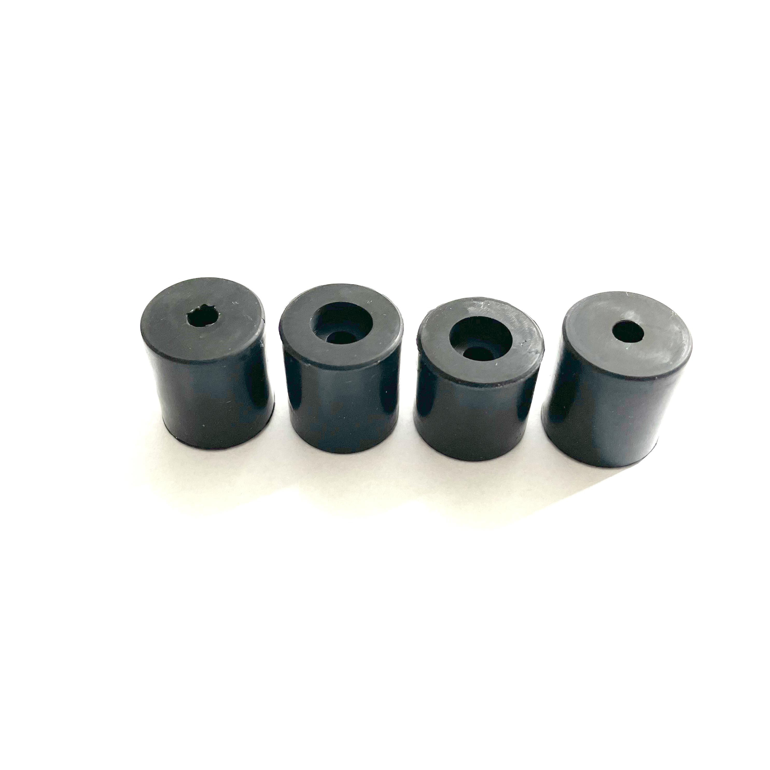 Silikondämpfer 3x 18mm 1x 16mm für Druckbetten mit Betterdung