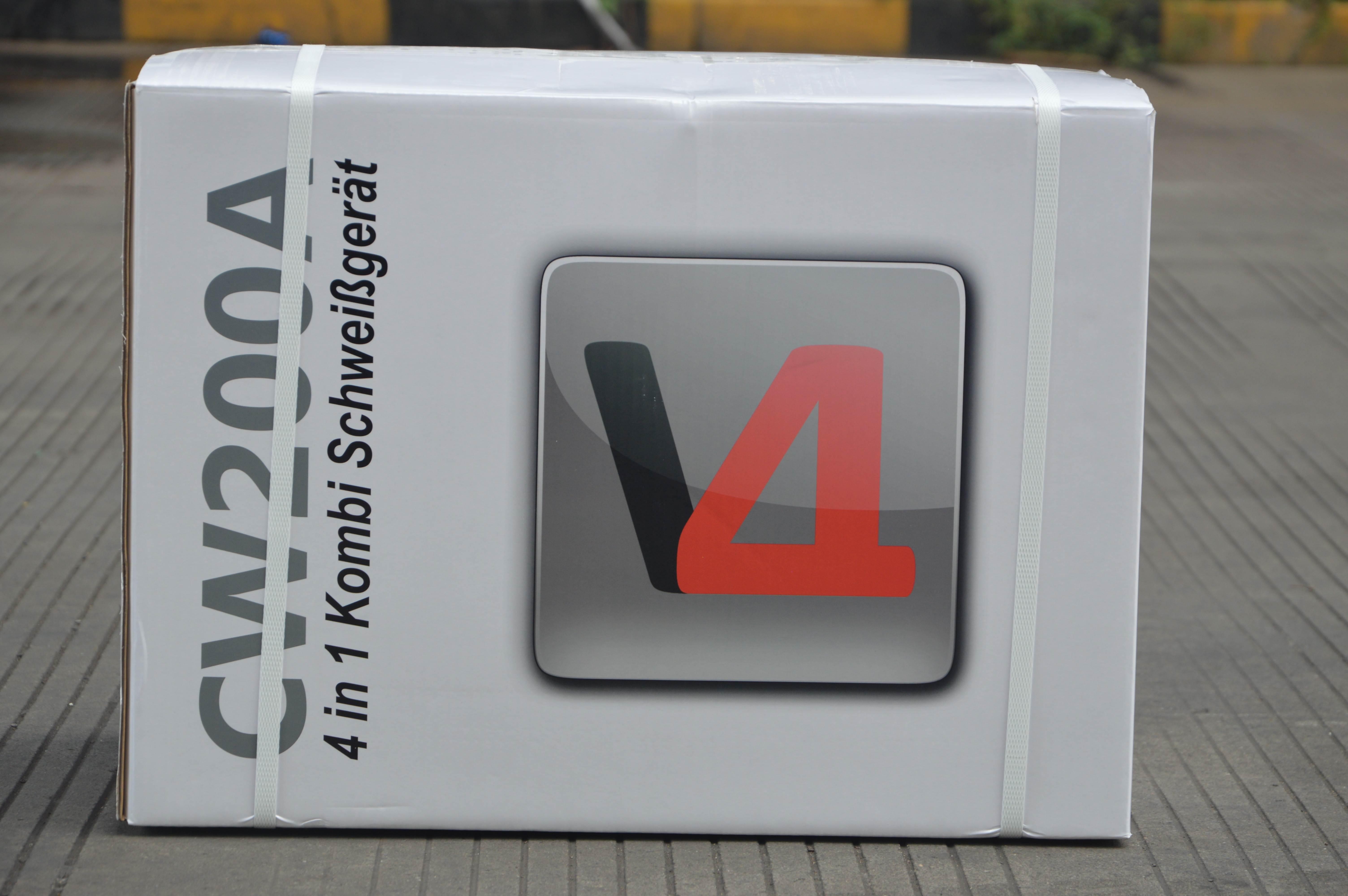 Halbautomatisches 4in1 Schweißgerät MIG/MAG WIG MMA (E-Hand)