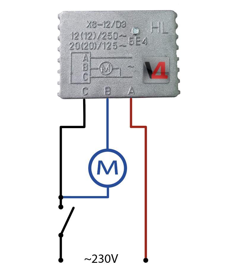 12A Sanftanlauf für Elektrowerkzeuge zb. Tischkreissägen 230V