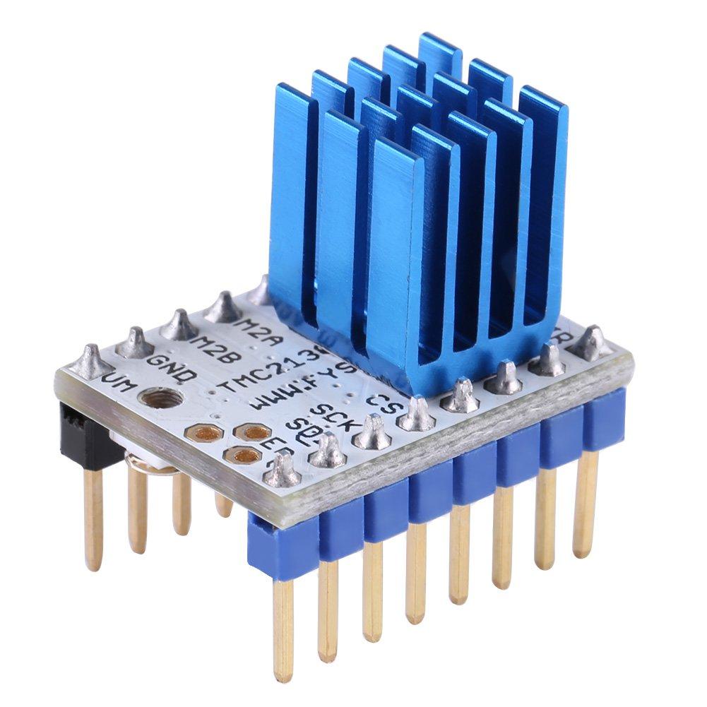 1x TMC2130 FYSETC silent Schrittmotortreiber für 3D-Drucker inkl. Kühler